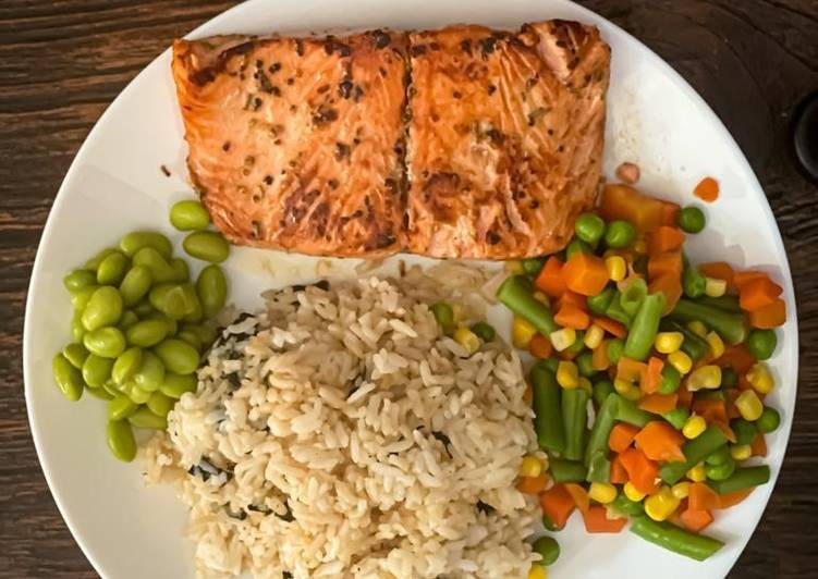 Steik Salmon 'Rumahan'