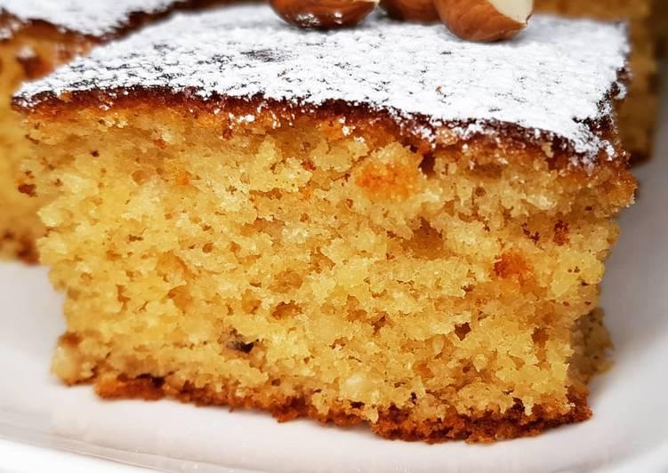 Gâteau aux noisettes et miel (sans sucre)
