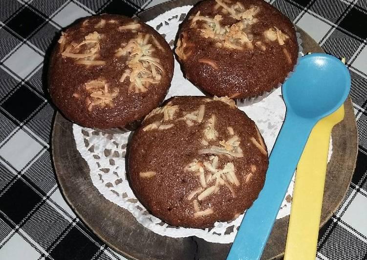 Choco muffin simple tanpa dcc