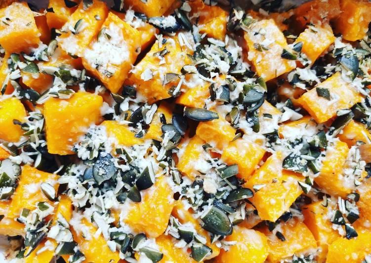 Zucca al forno al pecorino