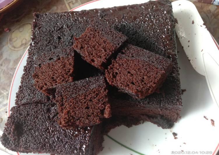 Brownies Rumahan Lembut