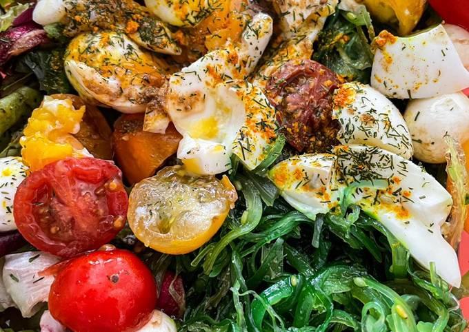 Salade healthy de printemps de Bodyandfly