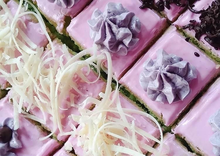 20. CAKE POTONG (BASIC BOLU JADUL)