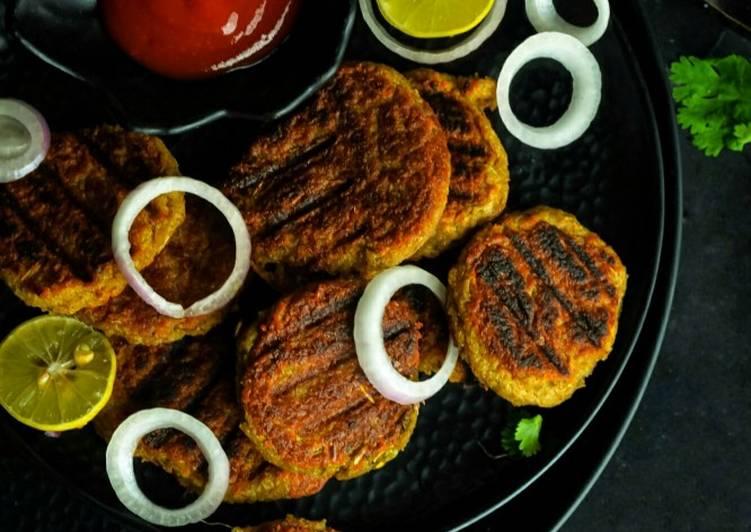 Recipe: Delicious Soyabean kebabs
