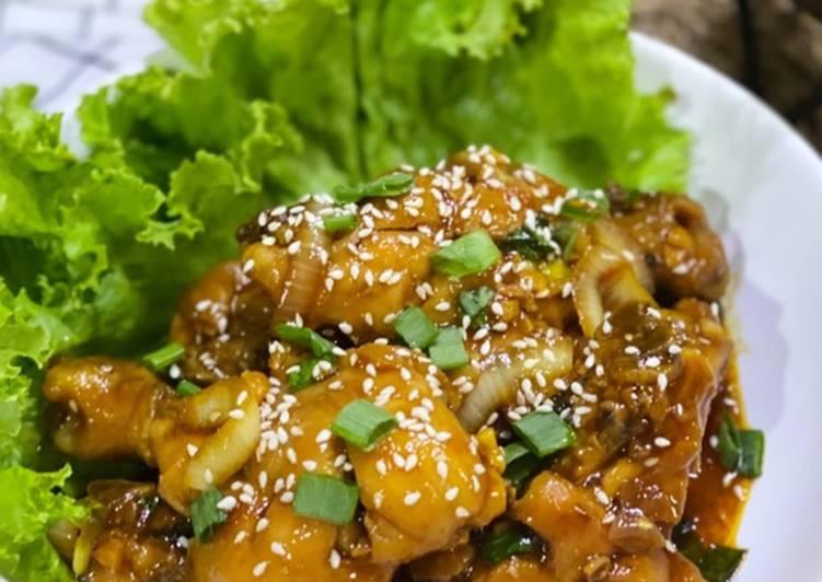 Cara Gampang mengolah Ayam Goreng Mentega yang Menggugah Selera