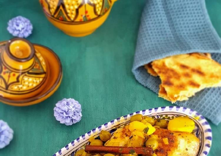 Recette Des Poulet aux olives