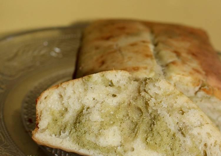 Cake marbré au matcha healthy 💚