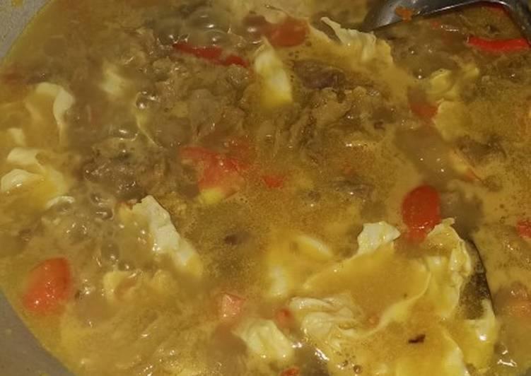 Tongseng daging sapi