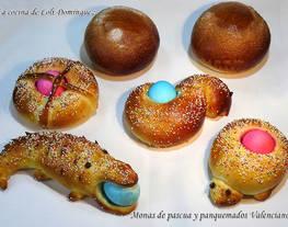 Monas de Pascua y panquemados Valencianos