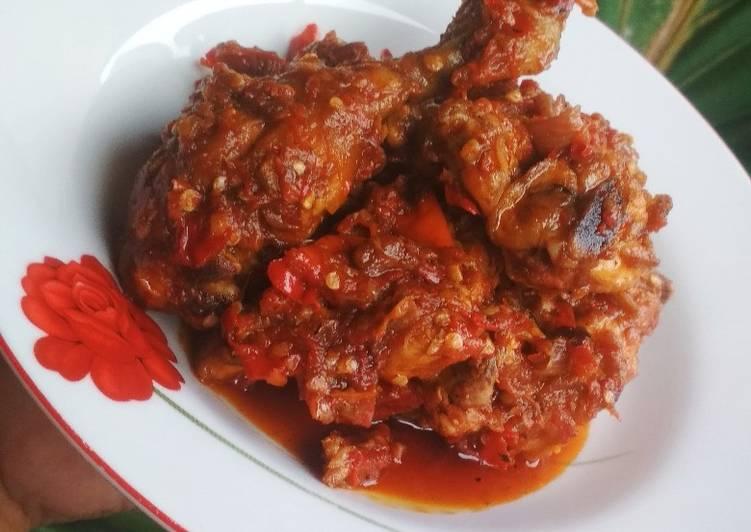 Ayam Balado / Ayam Lado Merah