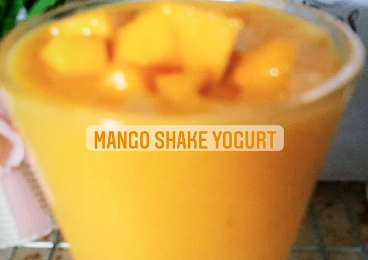 Mango Shake Yogurt