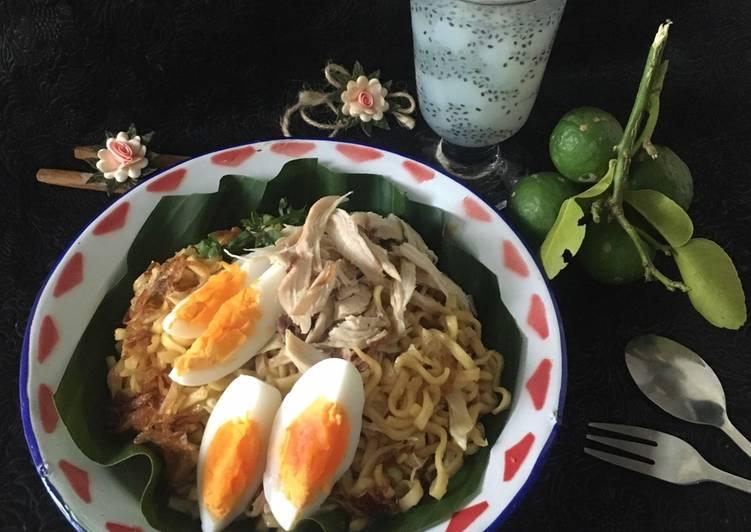 Mie Bancir dan Es Limau Kuit chef Agus Sasirangan