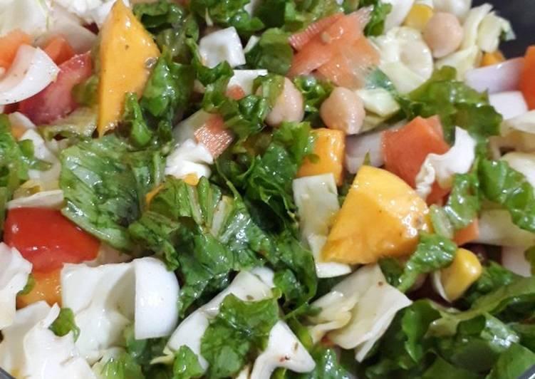 Fresh crunchy Salsa #nofire