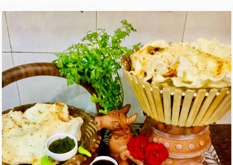Steps to Make Homemade Rice Flour Papads