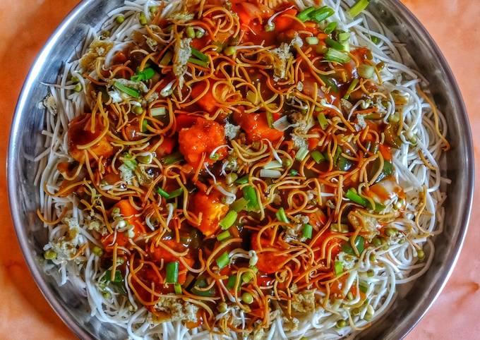 Triple Schezwan Noodles