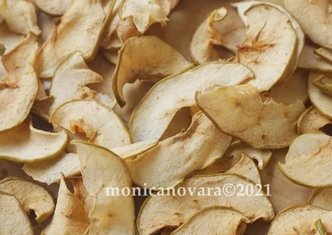Healthy Apple Chips (tanpa dehidrator)