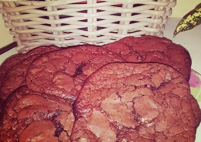 Cookies tout choco, pépites chocolat au lait et Chocolat blanc