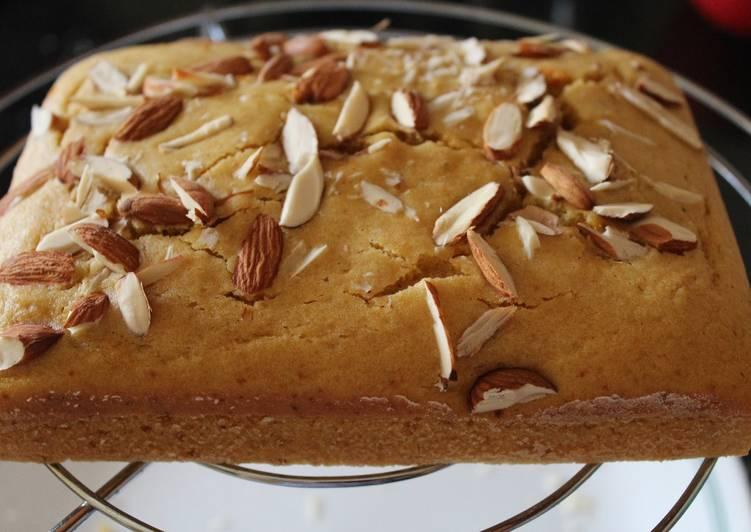 Recipe of Speedy Whole Wheat Orange Cake (Eggless)