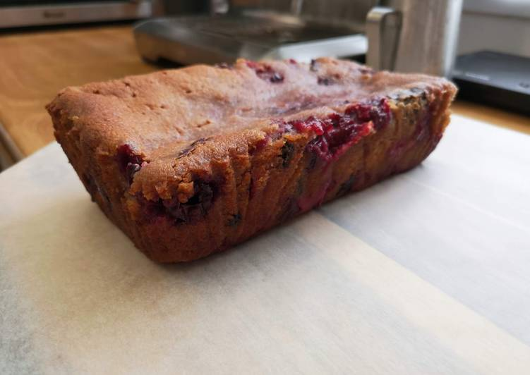 Easiest Way to Make Delicious Morello Cherry & Dark Chocolate Cake
