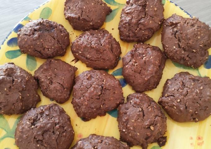 Cookies sésame courgettes
