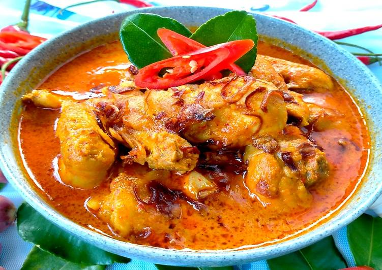 Resep Resep Gulai Ayam Yang Pedas Lezat Dan Nikmat yang sempurna