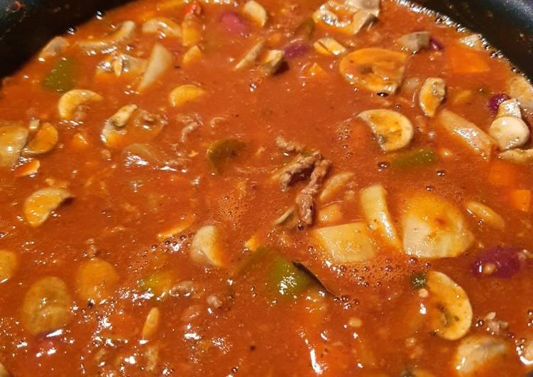 Kickin' Chorizo Chillie