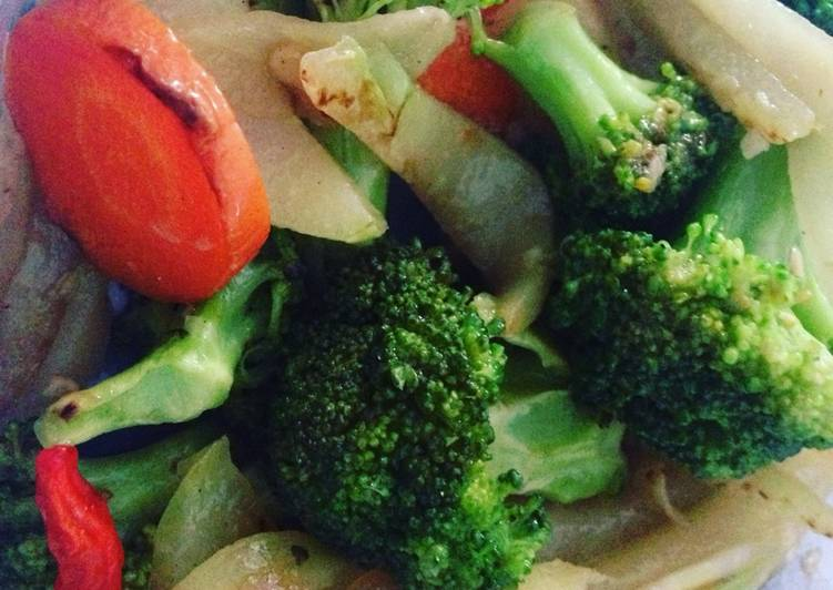 Resep Diet GM Day 2 - Sayur Panggang (Grilled) yang Bisa Manjain Lidah