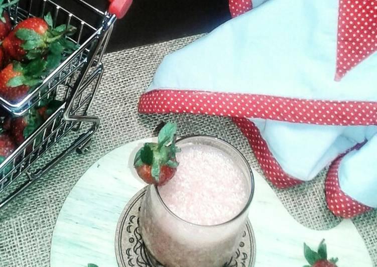 Jus strawberry youghurt