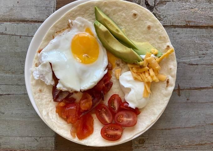 Huevos Rancheros (oeufs mexicains)