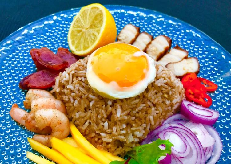 Easiest Way to Prepare Super Quick Homemade Shrimp Paste Fried Rice