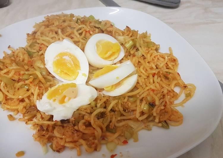 Sesame, Pak Choi & Egg Noodles