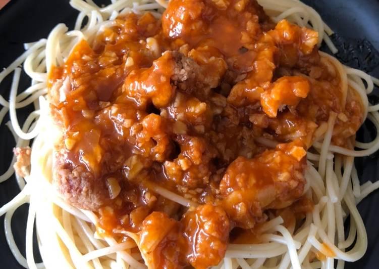 Spaghetti supreme deluxe KFC