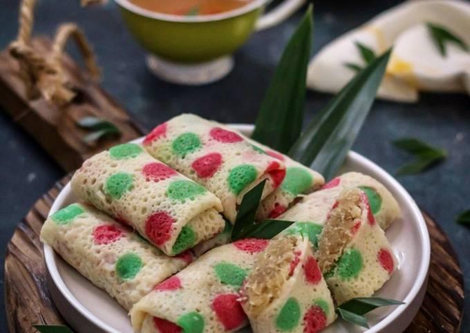 Resep Dadar Gulung Polkadot Oleh Moona S Kitchen Cookpad
