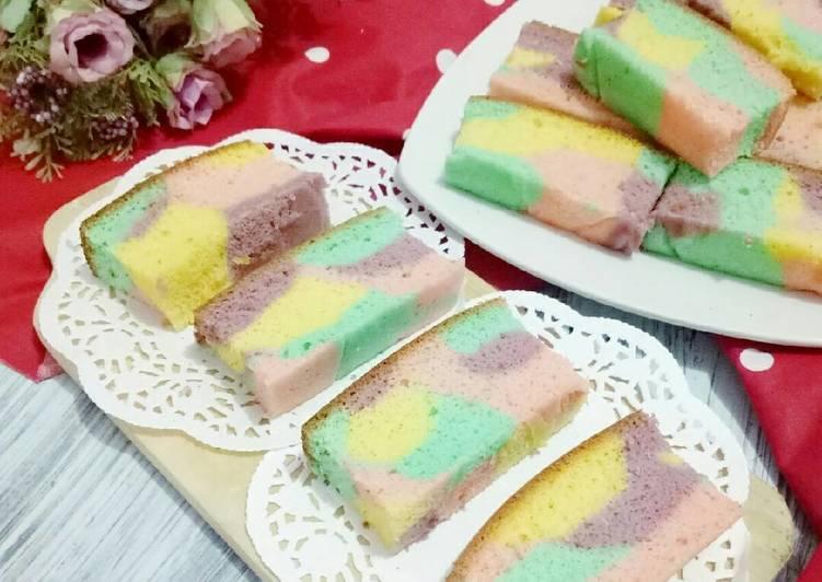 Resep Tradisional Unicorn Ogura Cake Yang Maknyus