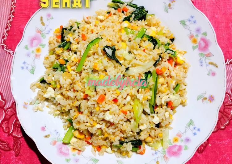 bagaimana cara membuat nasi goreng sehat madebyircia praktis resep masakanku nasi goreng sehat madebyircia