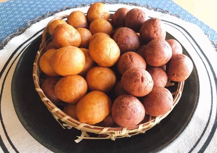 🧑🏽🍳🧑🏼🍳 Sweet Potato Recipe • Thai Sweet Potato Balls •Easy Sweet Snacks  ThaiChef food