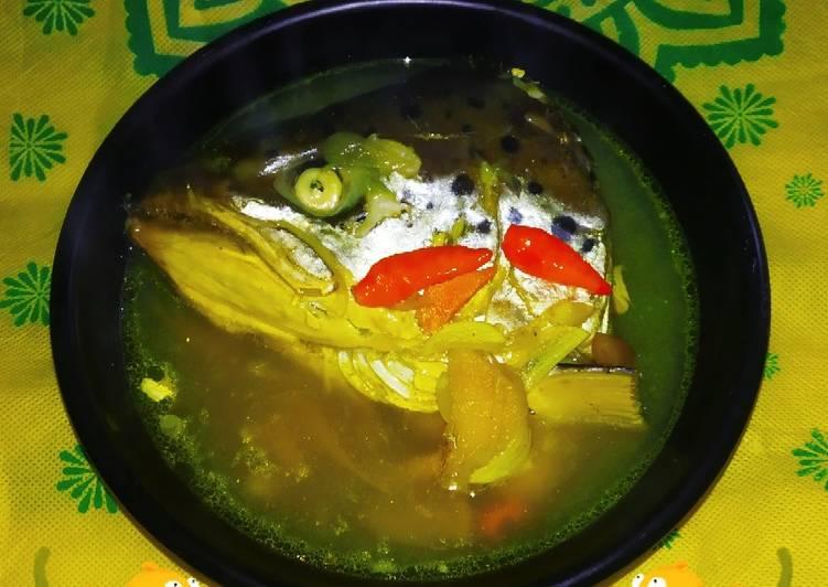 🐟 Kepala Salmon Kuah Asam (NTT)
