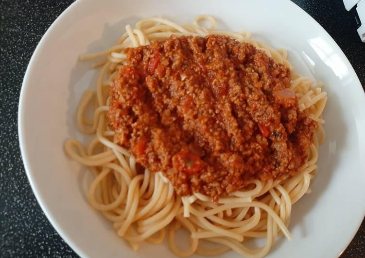 Recipe of Perfect Spaghetti Bolognese