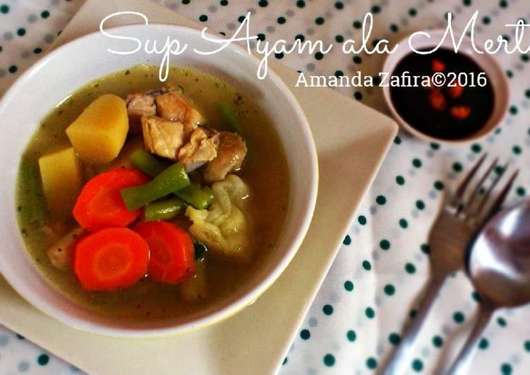 Sup Ayam ala Mertua