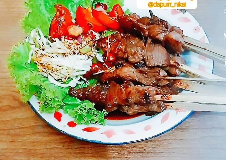 Sate daging kambing