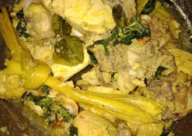 Ayam rica kemangi simple