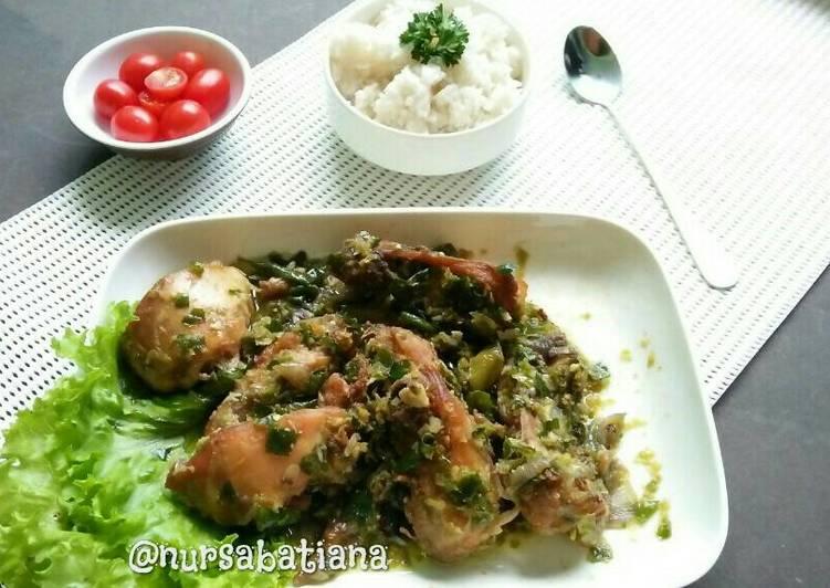 Ayam Cabe Ijo ala Padang