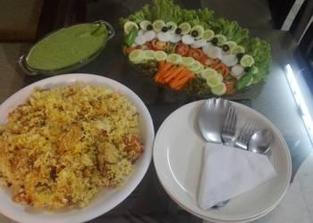 Easiest Way to Recipe Appetizing Chicken biryani KokabCookpad
