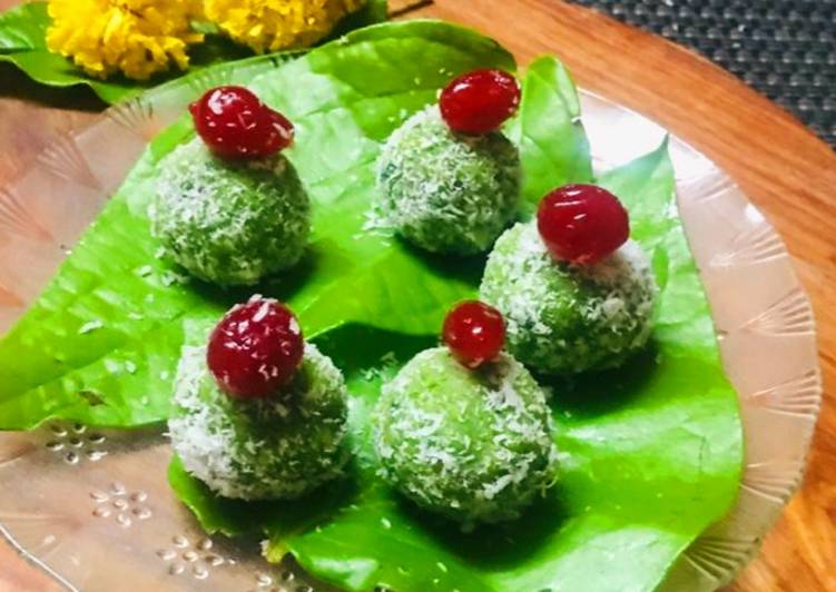 Simple Way to Make Perfect Paan and coconut ladoo