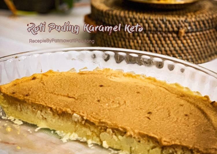 Roti Puding Karamel Keto - velavinkabakery.com
