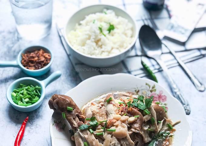 Nasi Putih Dan Sup Ayam #phopbylinimohd #task1
