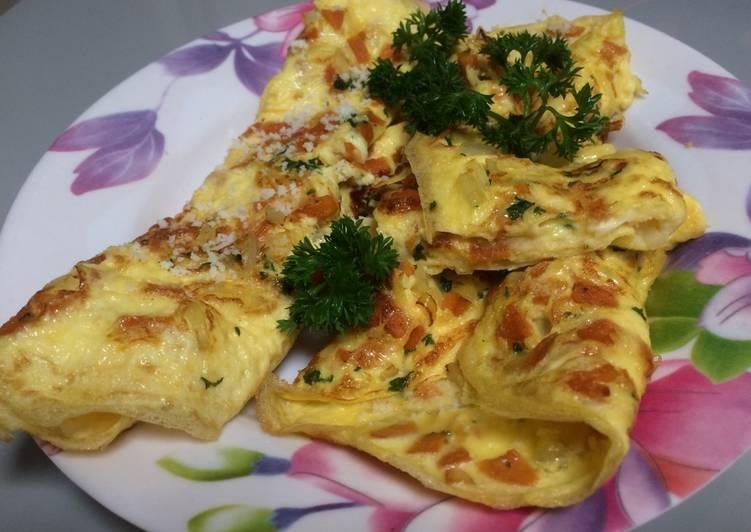 Resep Telur Omelete Bikin Laper