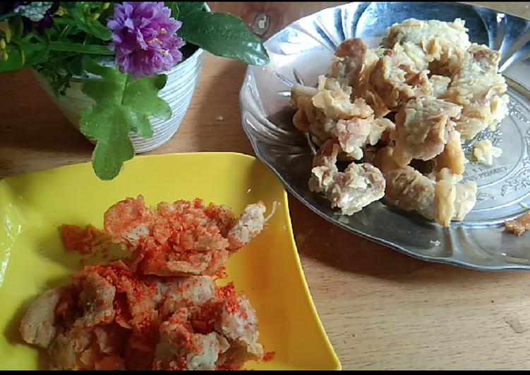 Resep bakso crispy goreng