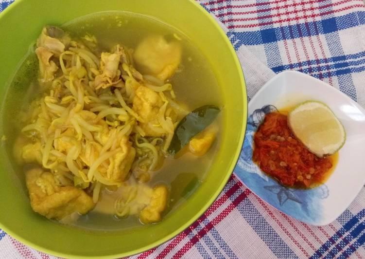 15. Soto Tahu Toge + Tulangan Ayam