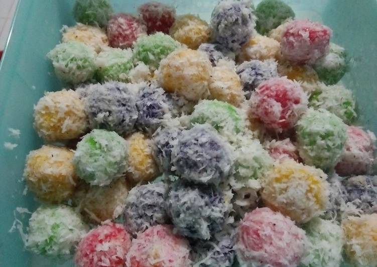 Resep Klepon rainbow gijca cake